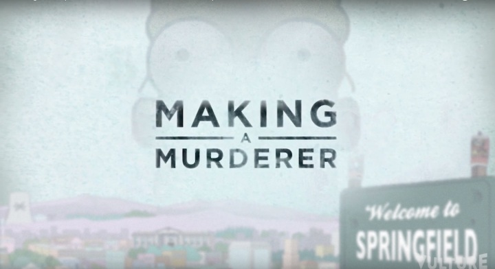 making a murderer los simpsons